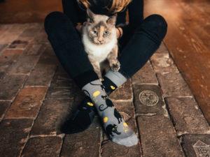 Díky ponožkám si můžete jednoduše oživit svůj styl